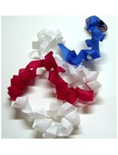 Mouth Coils 46 ft. - Patriotic Accessory