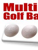 Multiplying Golf Balls (White) Trick