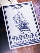 Nautical Playing Cards (Blue) Deck of cards
