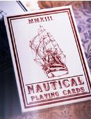 Nautical Playing Cards (Red) Deck of cards