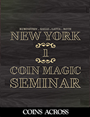 <span>3.</span> New York Coin Magic Seminar - Volume 1 (Coins Across)