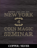 New York Coin Magic Seminar - Volume ... magic by David Roth, Michael Rubinstein, Geoff Latta and Mike Gallo