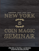 New York Coin Magic Seminar - Volume ... magic by David Roth, Giacomo Bertini, Kainoa Harbottle, Michael Rubinstein, Geoff Latta and Mike Gallo