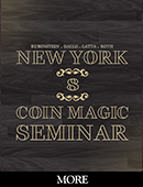 New York Coin Magic Seminar - Volume 8 (More) DVD or download