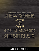 New York Coin Magic Seminar - Volume ... magic by David Roth, Scotty York, Michael Rubinstein, Geoff Latta, Mike Gallo and Bill Citino