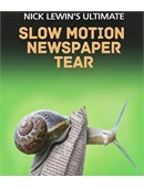 Nick Lewin's Ultimate Slow Motion Newspaper Tear DVD