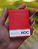 NOC Original Deck (Red) USPCC Printed Deck of cards