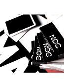 NOC V2 Deck (Black) Deck of cards