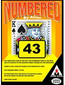 NUMBERED magic by Astor Magic Bt