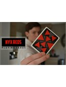Nyx Reds Playing Cards Deck of cards