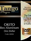Okito Coin Box - One Dollar size DVD