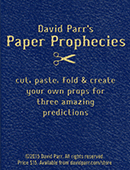 Paper Prophecies magic by David Parr