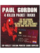 Paul Gordon's 4 Killer Packet Tricks ... magic by Paul Gordon