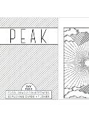 Peak Playing Cards (Day) Deck of cards