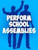 Perform School Assemblies magic by Obediah Thomas