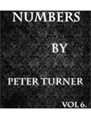 Peter Turner's Mentalism Masterclass - Numbers (Volume 6) Magic download (video)