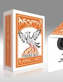 Phoenix Deck - Orange Deck of cards