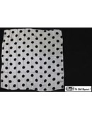 Polka Dot Silk - Black on White Trick