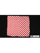 Production Hanky Zebra Red and White Trick