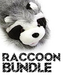 Raccoon Bundle DVD & props