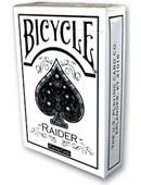Raider Bicycle Deck White Deck of cards