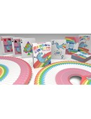Rainbow Unicorn Fun Time! Playing Cards Deck of cards