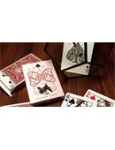 Ravn Playing Cards (Red) Deck of cards