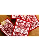 Red Wheel Playing Cards Deck of cards