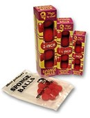 Reg Micro Sponge Balls Red (10 pack) Accessory