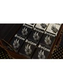 Revelation Playing Cards (Black) Deck of cards