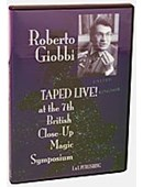 Roberto Giobbi Taped Live DVD