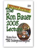 Ron Bauer 2008 Lecture Notes Book