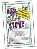 Ron Bauer Series: #12 - Paul Chosse's Bar Bill Stunt Book