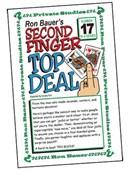 Ron Bauer Series: #17 - Second Finger Top Deal Book
