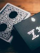 Royal Zen Playing Cards (Black) Deck of cards