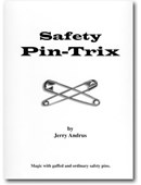 Safety Pin Trix Book