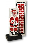 Santa Stuck in the Chimney Trick