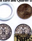 Scotch and Soda - 50 Euro Cents/Quarter Dollar Gimmicked coin