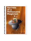 Secrets Of A Millionare Magician Book