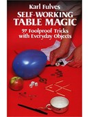 Self Working Table Magic Book