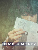 Seol-Ha's Time is Money DVD & props