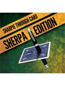 Sharpie Through Card SHERPA Version  Blue Trick