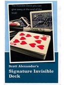 Signature Invisible Deck Deck of cards