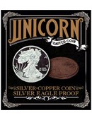 Silver - Copper Coin - Silver Eagle Proof Trick