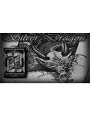 Silver Dragon  Playing Cards Deck of cards