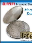 Slippery Expanded Shell - Morgan Silver Dollar Gimmicked coin