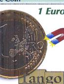 Steel Core Coin - 1 Euro Gimmicked coin