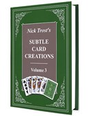 Subtle Card Creations of Nick Trost - Volume 3 Book