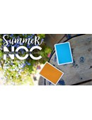 Summer NOC Playing Cards (Orange) Deck of cards