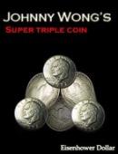 Super Triple Coin Eisenhower Dollar DVD